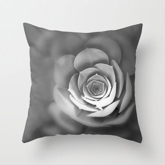 Sempervivum Throw Pillow