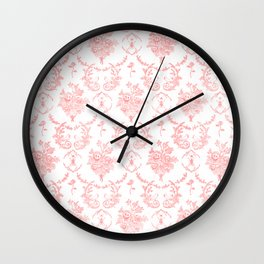 Grimm In Pink Wall Clock