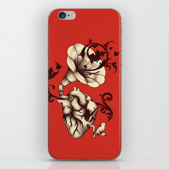 Listen to Your Heart iPhone Skin