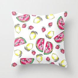 Sommarmönster 2015 Throw Pillow