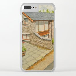 Bank Cottage, Talybont-on-Usk Clear iPhone Case