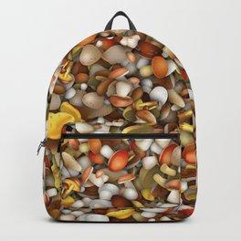 Mushrooms heap Backpack