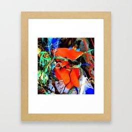 Rubber Glove Six Framed Art Print
