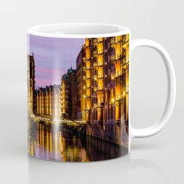 City of Warehouses - Speicherstadt in Hamburg, Germany Coffee Mug