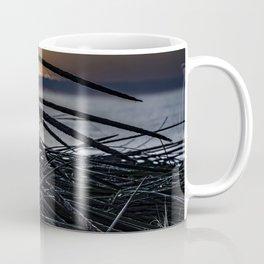 Sun rise though the dune grass Coffee Mug