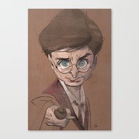 harry Canvas Prints featuring Harry! by nachodraws
