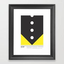 PAC-MAN Framed Art Print