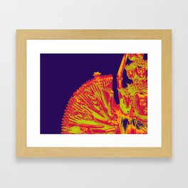 Quan Yin-Purple Framed Art Print