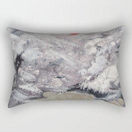 Alpine Moon Rectangular Pillow