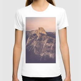 Yosemite, Smokey Sunset on Half Dome from Glacier Point T-shirt