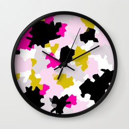 Crystalized 01 Wall Clock
