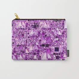 Modern Geo Fun,lilac Carry-All Pouch