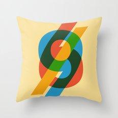 six to nine Throw Pillow