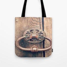 Rustic Door Knocker II Tote Bag