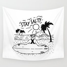 Stay Salty Wall Tapestry