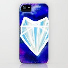 Hearts or Diamonds, I'll Take Diamonds iPhone Case