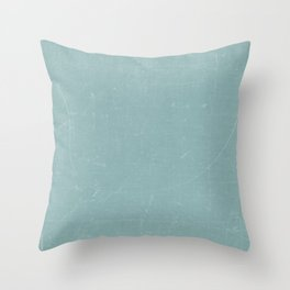 White and Green Old School GreenBoard Throw Pillow