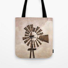 Iowa Windmill Tote Bag