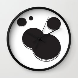 Empty holes Wall Clock