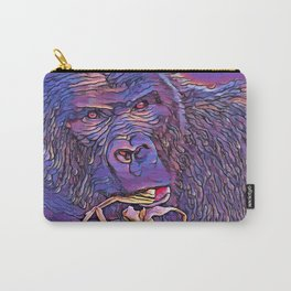 Feeding Gorilla Carry-All Pouch