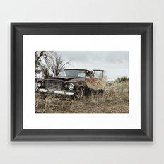 Vintage Studebaker Framed Art Print