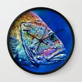 Tie Dye Wall Clock