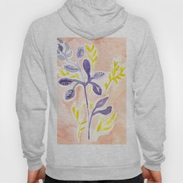 abstract flowers Hoody