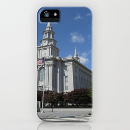 Philadelpha LDS Temple iPhone Case