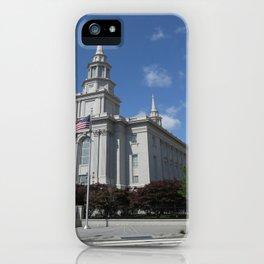 Philadelpha LDS Temple iPhone Case