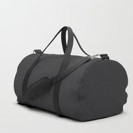 Simulated Black Carbon Fiber Duffle Bag