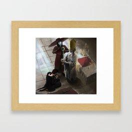 Benediction of the Healing Church Framed Art Print