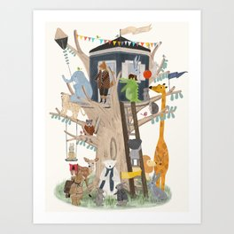 little playhouse Art Print
