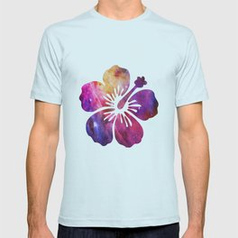 space flower T-shirt