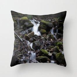 Waterfalls 4 Throw Pillow