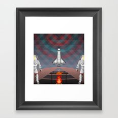 Space Tourism  Framed Art Print