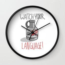MolButts Wall Clock