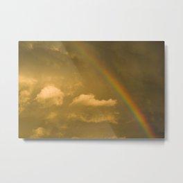 somewhere, over the rainbow... Metal Print