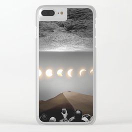 night time spectacle Clear iPhone Case