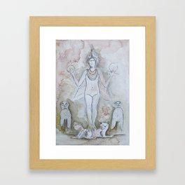 Anunnaki Framed Art Print