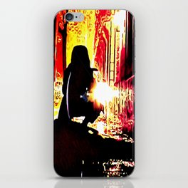 The Shadow Cleaner iPhone Skin