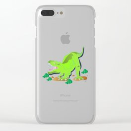 Dino - Bright Clear iPhone Case