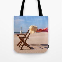 Windy Beach Day Tote Bag