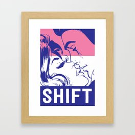 Shift Framed Art Print