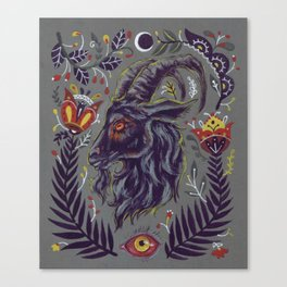 Black Phillip Canvas Print