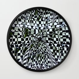Abstract Composition 360 Wall Clock