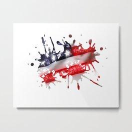 Star Spangled Banner Metal Print