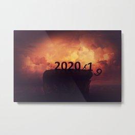Farewell 2019 Metal Print