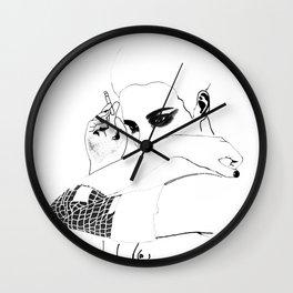 Natalia Vodianova Wall Clock