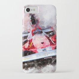 Niki Lauda No.1 iPhone Case