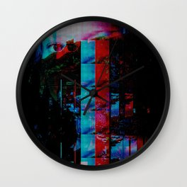Face of a thousand Voices Wall Clock